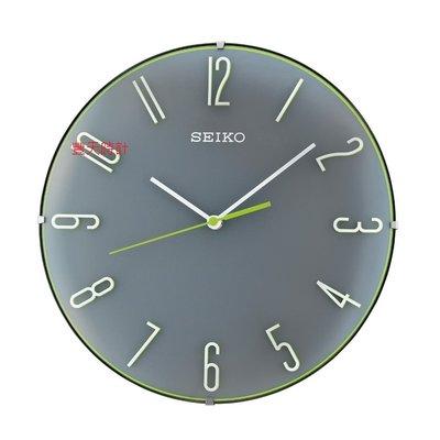 豐天時計【SEIKO】日本 精工 SEIKO 立體時標 靜音 時鐘 掛鐘 QXA672 QXA672N