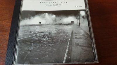 Heiner Goebbels Surrogate Cities 現代劇場配樂大師作品發燒錄音ECM cd1688