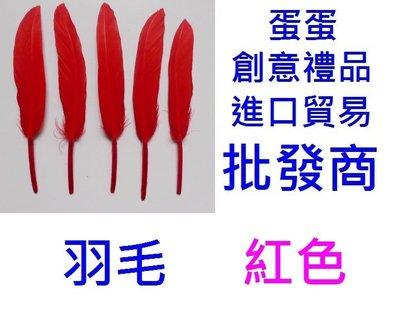 @蛋蛋=LED銅線燈批發商@9角=紅色羽毛=DIY羽毛翅膀 羽毛筆羽毛扇 羽毛條 裝飾糖果盒 喜糖盒 包裝材料 婚禮小物