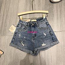 發發潮流飾品D Too.LIN2019夏季新款高腰牛仔短褲潮百搭闊腿顯瘦熱褲學生短褲