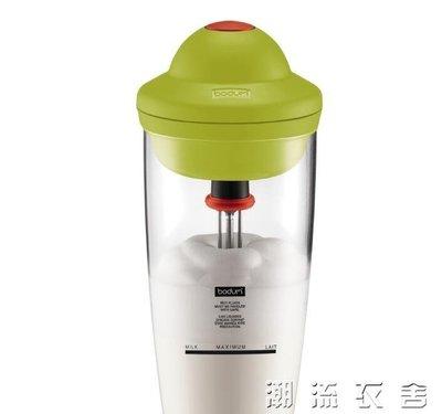 進口奶泡機電動打奶器家用全自動打泡器冷熱咖啡牛奶奶沫機