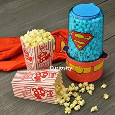 【Curiosity】現貨!美國 Superman 超人造型迷你爆米花機 $1800↘$1499免運