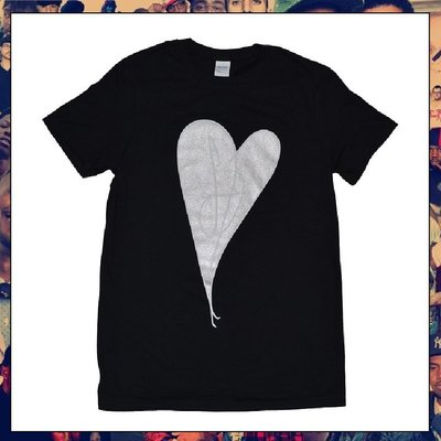 【三分之二】THE SMASHING PUMPKINS Initial Heart  //復古潮流/Band/Tee