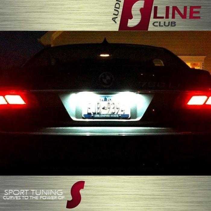 ◇光速LED精品◇BMW E65 E66 745i 750i 760i 7 Series 解碼 牌照燈