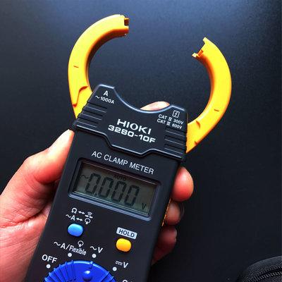 萬用表日本日置HIOKI 數字鉗形萬用表3280-10F 鉗型電流表1000A鉗形表
