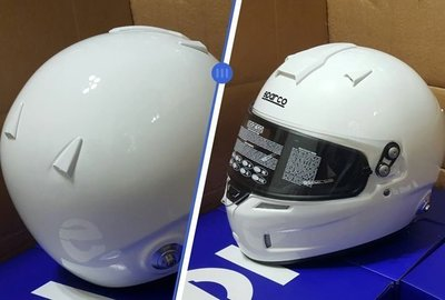 人身部品~全新正Sparco Air RF-5W Racing HelmetFIA認證全罩式安全帽只要18000