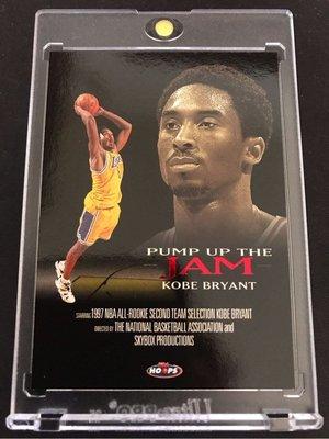🐍1998-99 Hoops Pump Up the Jam #PJ4 Kobe Bryant