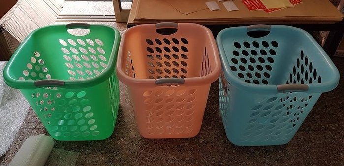 小毛收納館『KEYWAY F999超大花束洗衣籃』含稅開發票 外送籃 收納籃 置物籃 洗衣籃 收納箱