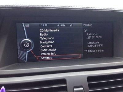 [ROY蕭] BMW各車系外匯車 英文改中文介面 中文化 全車系