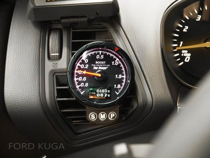 【精宇科技】Ford KUGA 1.5T 1.6T 2.0T TDCI 冷氣出風口渦輪水溫排溫 FOCUS FIESTA