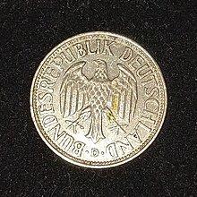 1956年 德國  1 Deutsche Mark
