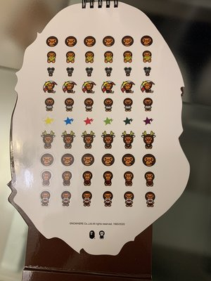 A Bathing Ape 2020 Calendar