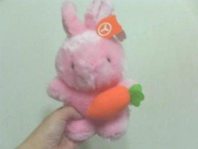 全新可愛粉紅兔