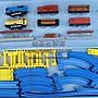 【壹品】雙車頭電動軌道高架橋77件套托馬斯軌道火車超大型豪華玩具大套裝火車模型YP-21466