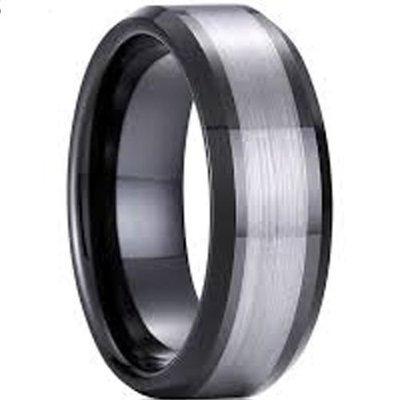 coi jewelry tungsten carbide wedding band ring 戒指