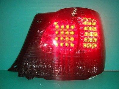 》傑暘國際車身部品《 超炫凌志LEXUS GS300 燻黑LED尾燈-搭配光圈魚眼更優惠