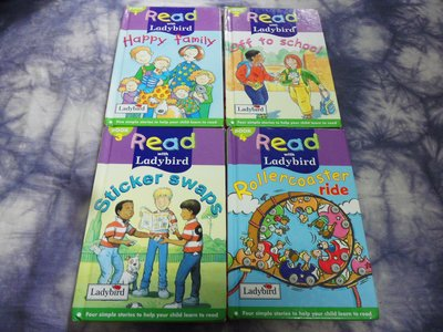 【彩虹小館】共6本英文童書~Read with Ladybird(BOOK1~5.7)Happy family+....