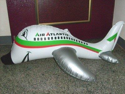 【潮州】─古早味的充氣玩具〈大隻的〉~飛機