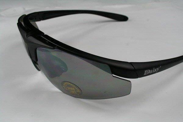 全新  美國名牌 Daisy 軍規戶外專用抗彈 抗U/V 太陽眼鏡 鏡片可換 可配近視片 D05 k25