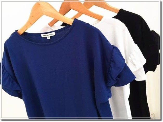 【WildLady】 AMERICAN HOLIC日系雙層荷葉袖上衣 t恤 2件郵寄免運