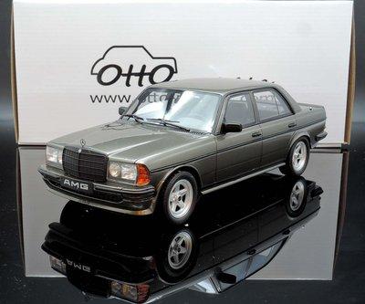 【M.A.S.H】現貨瘋狂價 OTTO 1/18 Mercedes AMG 280E W123 Saloon grey