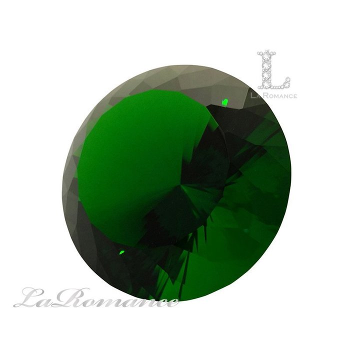 【芮洛蔓 La Romance】 璀璨鑽型水晶鑽 – 12 cm / 招財 / 聚財 / 幸運色