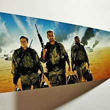 珍貴絕版2000年美麗華戲院(2003年結業)舉行佐治古尼麥克華堡荷里活電影《奪金三王》優先場立體門券1張