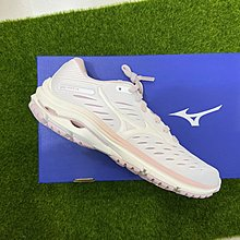 憲憲之家 美津濃 MIZUNO WAVE RIDER 24 女 高緩衝慢跑鞋 寬楦 J1GD200613