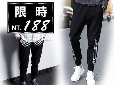 ⚡免運+現貨🏆極簡風字母印花。中大尺碼。超舒適休閒褲。短褲六分褲長褲