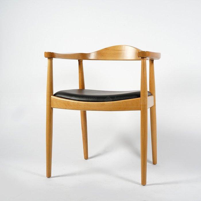 【酷鳥窩】北歐丹麥設計款復古扶手餐椅