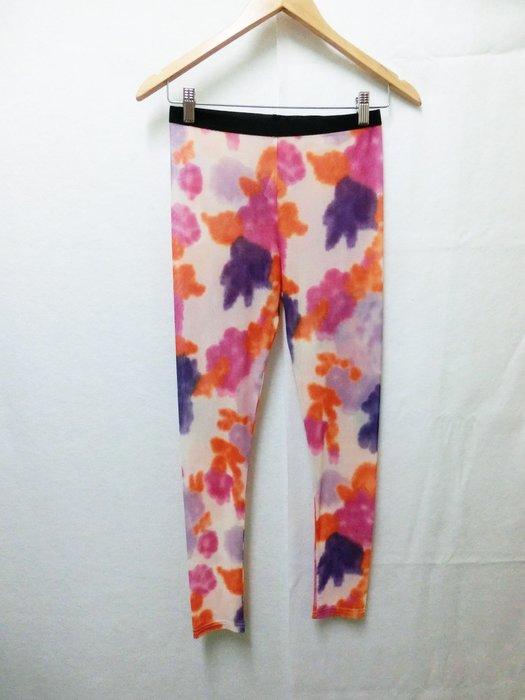 【Kstyle】義大利進口--花朵暈染長絲襪內搭褲