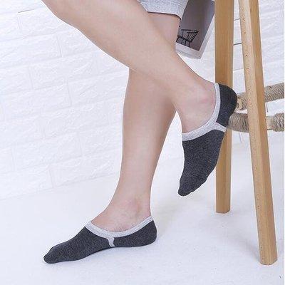 隱形襪船襪子男士短襪拖夏季淺口半隱形棉質超厚款防滑低腰床襪秋白防臭