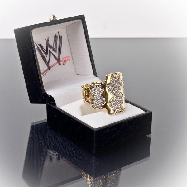 ☆阿Su倉庫☆WWE摔角 WWE Million Dollar Belt Ring 百萬冠軍限量戒指 熱賣特價中