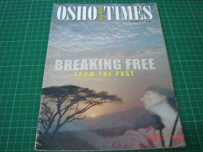 早期 奧修 雜誌《OSHO TIMES ASIA EDITION  DEC/1999 RS.20》【CS超聖文化讚】