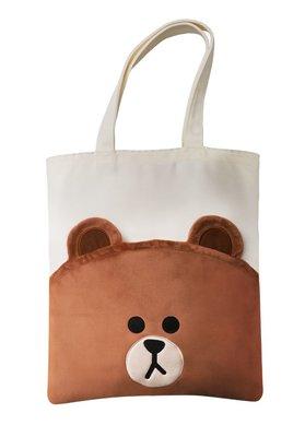 麥當勞 x LINE FRIENDS 熊大雙層帆布包