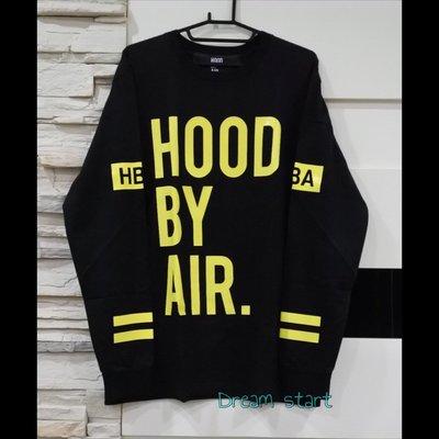 Hood By Air Classic Long Sleeve T-shirt  HBA 二手正品 9成新 黑色 現貨L