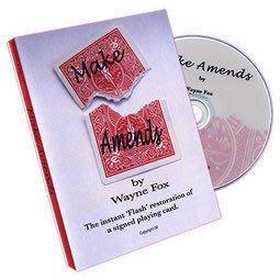【意凡魔術小舖】Make Amends (With Gimmick) by Wayne Fox彌補 終極撕牌還原 瞬間撕牌還原