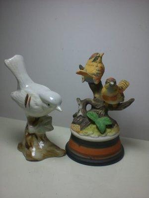 瓷器白鳥、雙鳥組【共2組】擺飾品、收藏品