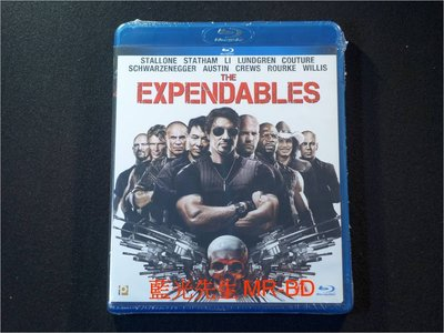 [藍光BD] - 浴血任務 The Expendables