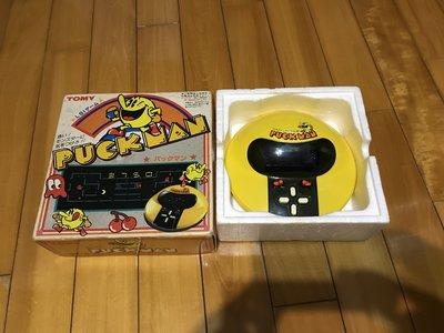 早期 掌上型電玩 小精靈 TOMY(PUCK MAN)經典絕版遊戲