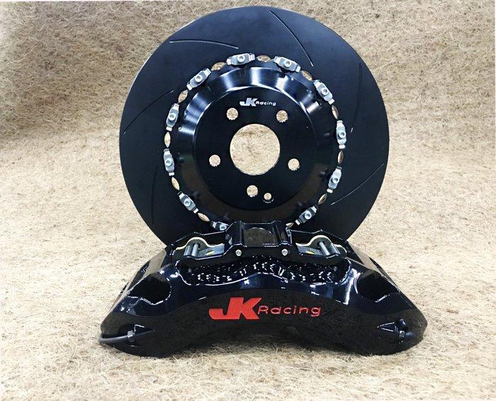 JK Racing 六活塞卡鉗 搭配380 浮動 劃線碟 浮動打洞盤 BNEZ BMW AUDI VW