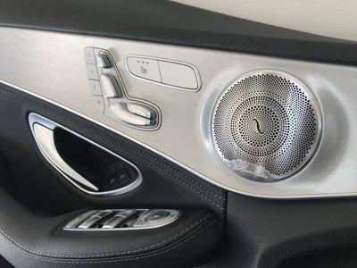 台中 巨博專業汽車影音 BENZ 賓士 W205/X253 雙門 柏林之音  氣氛燈 飾板  C/GLC W213