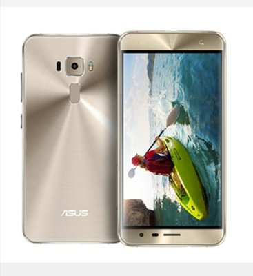 ASUS ZenFone 3 ZE552KL 4G/64G5.5吋 智慧型手機Android  8 作業系統二手 燿光金色外觀九成新 使用功能正常