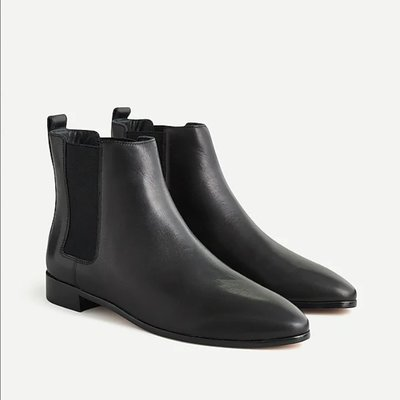 J. Crew Pull-on Chelsea boots in leather 12/25止