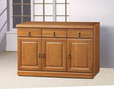 【南洋風休閒傢俱】精選餐櫃系列-碗盤櫃組 餐櫃 櫥櫃 收納櫃-正樟木4尺碗盤櫃CY358-951