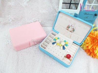 ☆[Hankaro]☆流行粉嫩實用多格飾品收納盒
