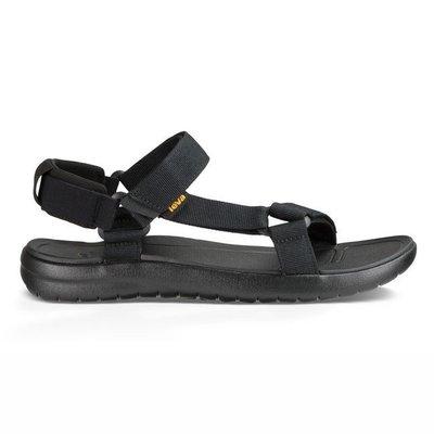 WaShiDa【SANBORN】TEVA 美國品牌 夏日 運動 經典 多點式 調整 織帶 水陸 涼鞋 黑色