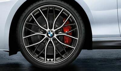 ✽顯閣商行✽BMW 德國原廠 M Performance F20 405M 輕量化鋁圈含胎組 輪圈 M140i LCI