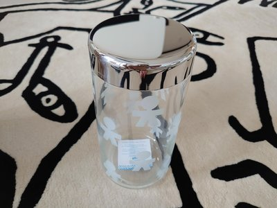 「斷捨離 出清拍賣」全新盒裝 Alessi Jar Girotondo AKK38-玻璃收納罐(1.5 Lt)