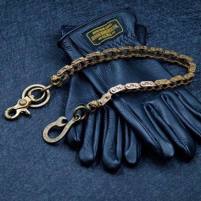 造夢師 手工製作 阿美咔嘰 復古 養牛 純銅 黃銅 機車金屬鑰匙鏈 財布鏈 褲鏈 腰鍊